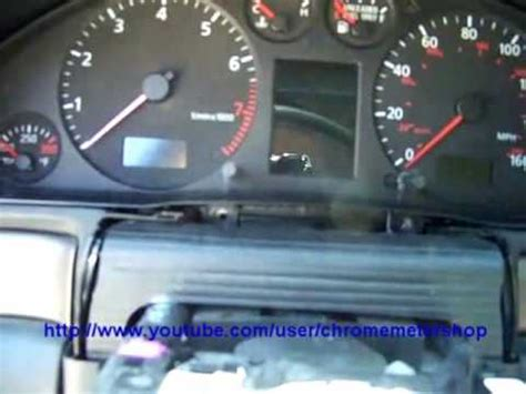 Instrument cluster removal - Audi A4 S4 A6 - YouTube