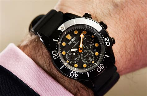 HANDS-ON: Seiko show their dark side with the Prospex