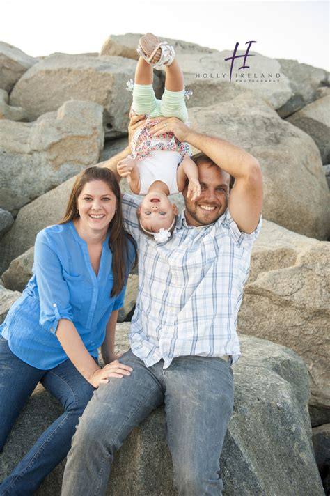 Family Photography Carlsbad CA was done at the beach in