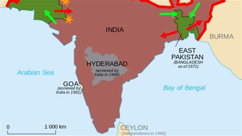 India's Intervention in East Pakistan: A Humanitarian