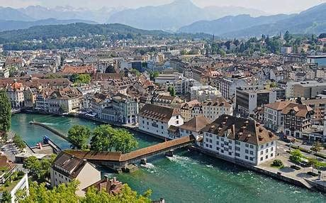 Visit beautiful Swiss city of Lucerne (and stay for free