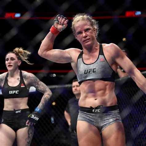 UFC, Holly Holm Agree to New 6-Fight Contract; Next