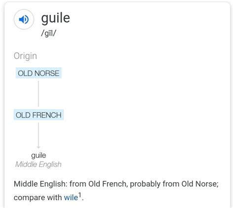 etymology - Is there a single origin for the connection