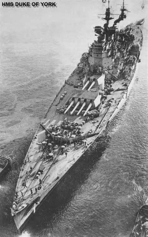 HMS Duke of York was one of Britain's five 14 in King