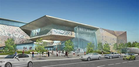 Gallery of Civic Cultural Exhibition and Activity Center