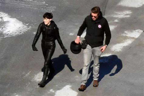 'The Girl in the Spider's Web' on Set: Claire Foy Films